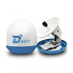 Ditel V61 63cm Ku band  3-axis stabilized maritime VSAT antenna