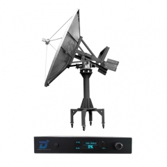 Ditel S241 240cm C band Ku band marine direct TV antenna