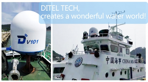 DITEL V101 maritime VSAT installed on National MSA patrol vessel