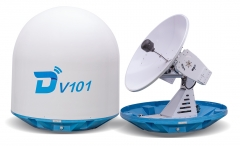 Ditel V101 100cm Ku band 3-axis stablilized maritime VSAT antenna
