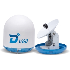 Ditel V60 63cm Ku band 2-axis stablilized marine VSAT antenna