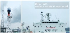 "DITEL V81 maritime VSAT installed on ""BOW ANDES"" Oil Tanker going for Southeast Asia lines"